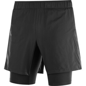 Salomon Agile Twinskin Shorts Heren, black